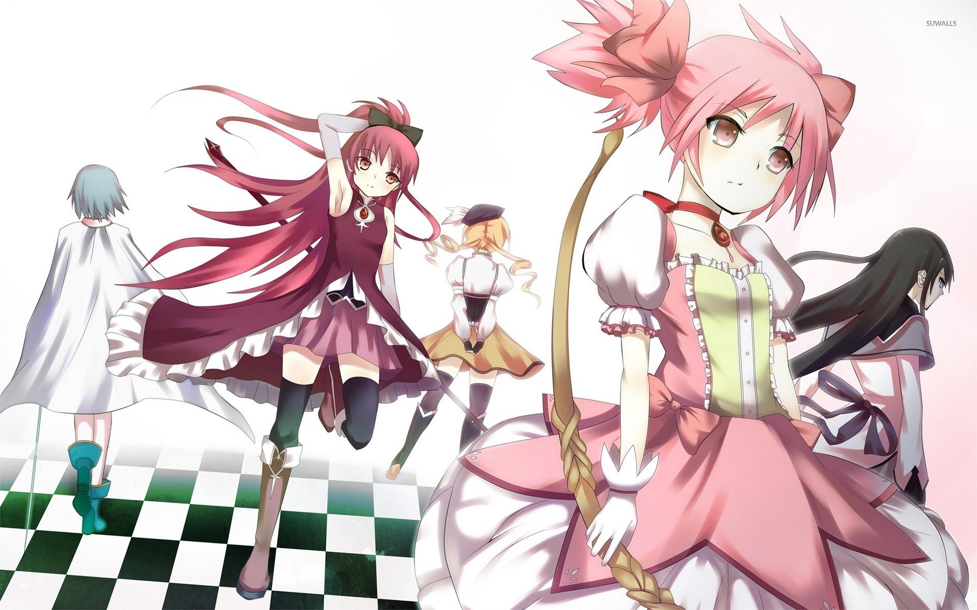 Puella Magi Madoka Magica Characters Wallpaper Anime Wallpapers 54578