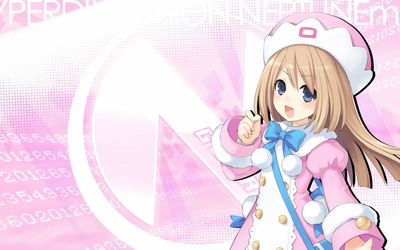 Ram from Hyperdimension Neptunia Wallpaper