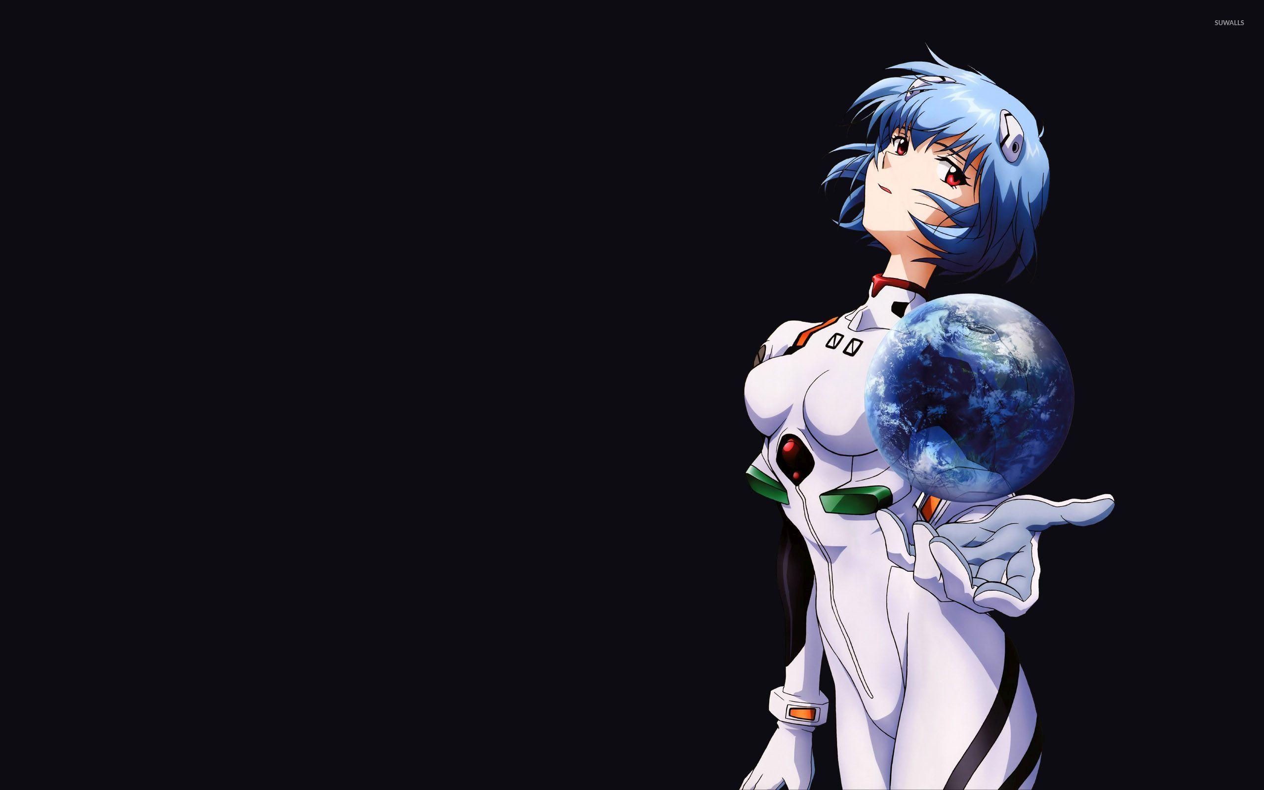 Rei Ayanami Neon Genesis Evangelion 3 Wallpaper Anime