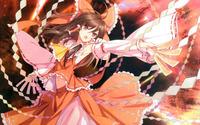 Reimu Hakurei from Touhou Project wallpaper 2560x1600 jpg