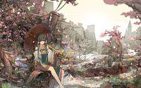 Reimu Hakurei - Touhou Project [3] wallpaper 1920x1200 jpg