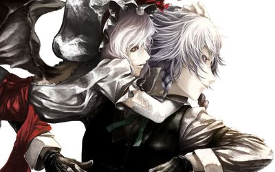Remilia Scarlet and Sakuya Izayoi wallpaper