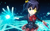 Rikka Takanashi in Love, Chunibyo & Other Delusions wallpaper 1920x1080 jpg