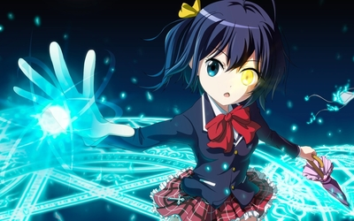 Rikka Takanashi in Love, Chunibyo & Other Delusions wallpaper