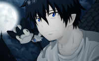 Rin Okumura - Ao no Exorcist [2] wallpaper 1920x1200 jpg