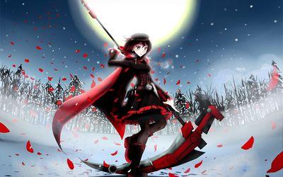 Ruby Rose - RWBY wallpaper