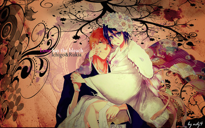Rukia and Ichigo - Bleach [2] wallpaper
