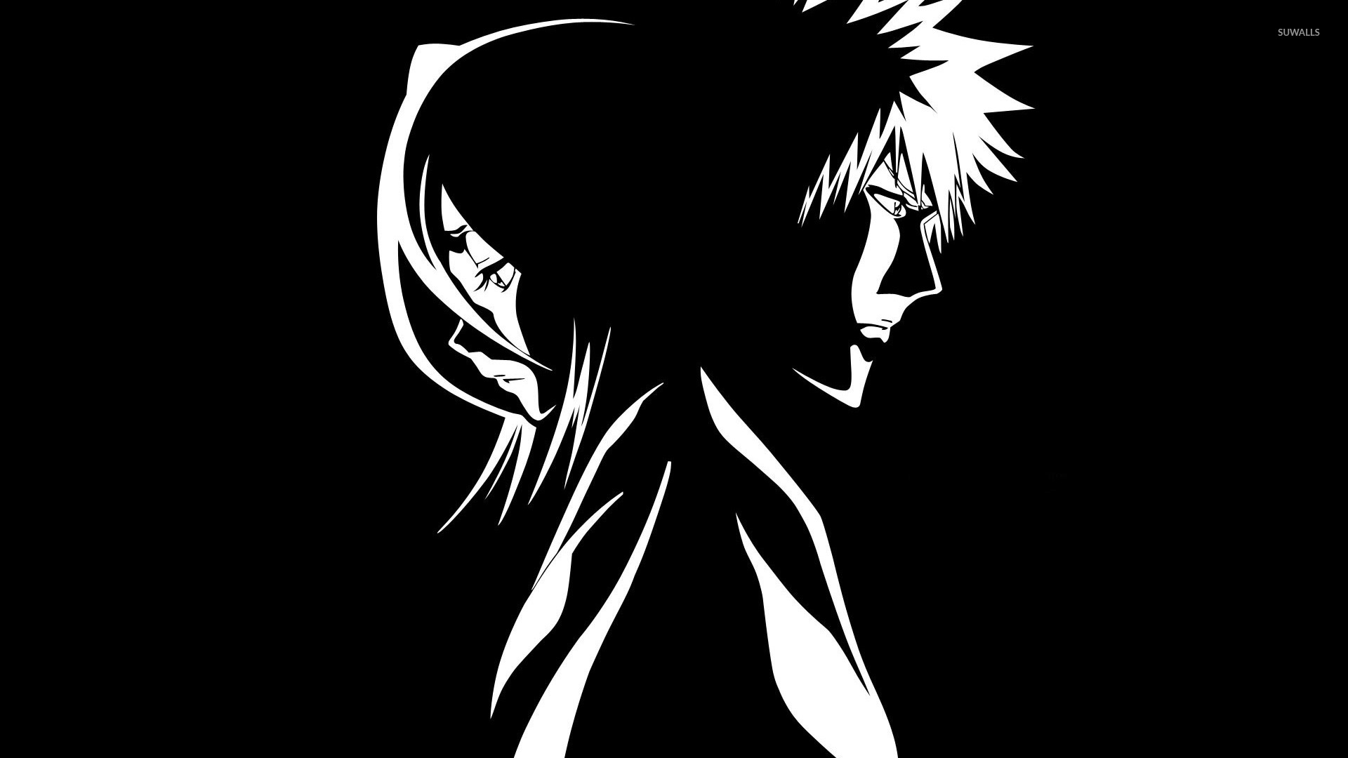 rukia and ichigo bleach wallpaper anime wallpapers
