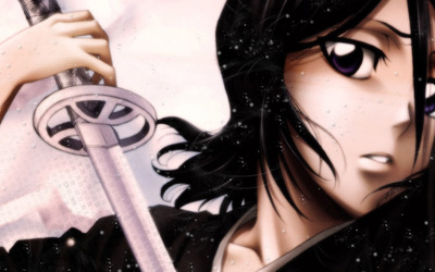 Rukia Kuchiki from Bleach wallpaper