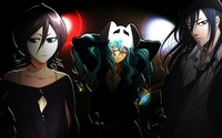 Rukia, Nelliel and Byakuya - Bleach wallpaper 1920x1200 jpg