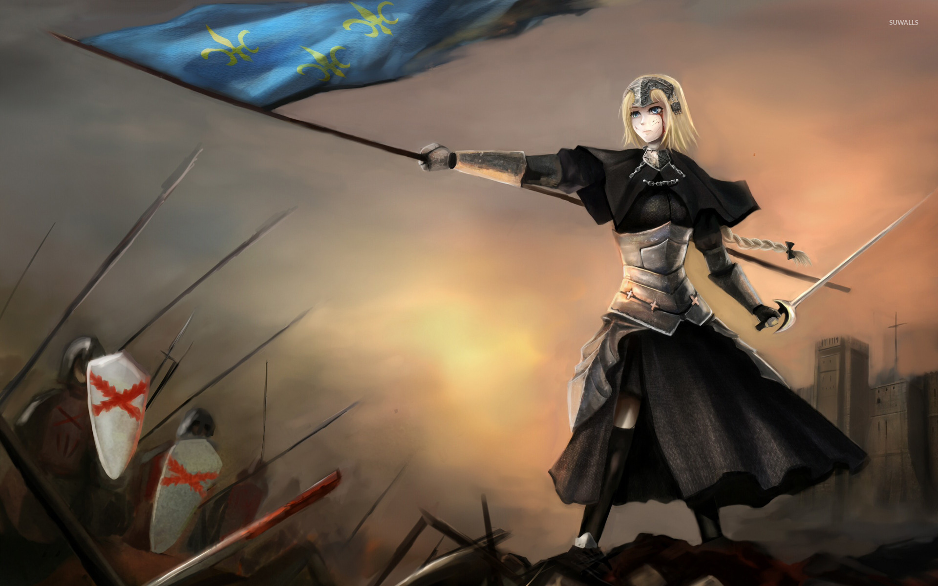 Ruler Fateapocrypha Wallpaper Anime Wallpapers 18415