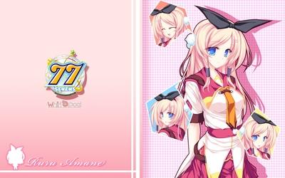 Ruru Amane - 77: And, two stars meet again wallpaper