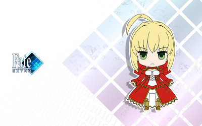 Saber - Fate/Extra wallpaper