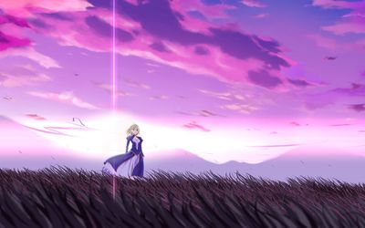 Saber - Fate/stay night [8] wallpaper