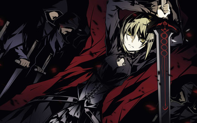 Saber - Fate/stay night [11] wallpaper