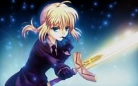 Saber - Fate/stay night [7] wallpaper 1920x1200 jpg