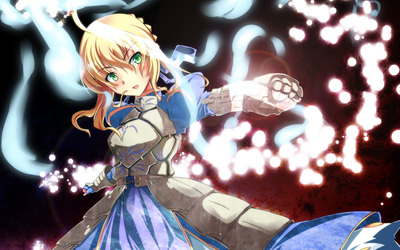 Saber - Fate/stay night [9] wallpaper