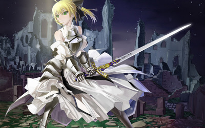 Saber - Fate/stay night wallpaper