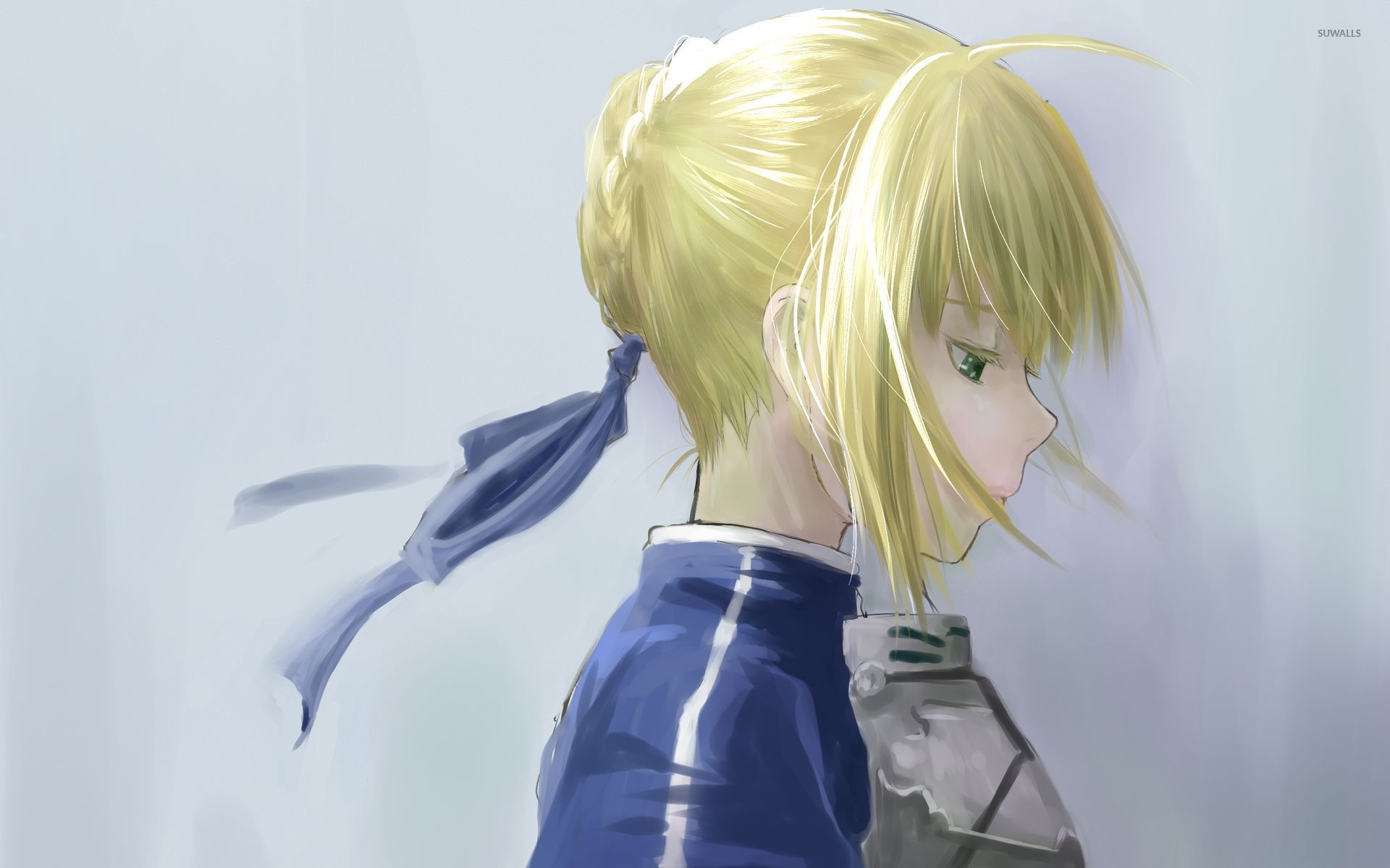 Sad Blonde Girl 2 Wallpaper Anime Wallpapers 53775
