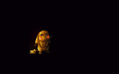 Sad Pikachu wallpaper