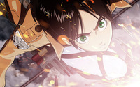 Sasha Blouse - Attack on Titan [2] wallpaper 2560x1440 jpg