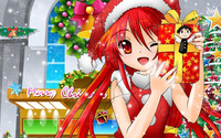 Shana on Christmas night - Shakugan no Shana wallpaper 1920x1080 jpg
