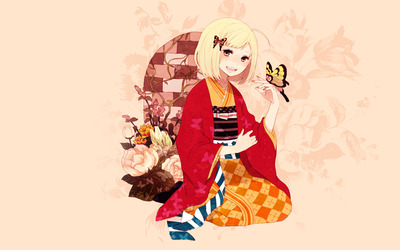 Shiemi Moriyama - Ao no Exorcist wallpaper
