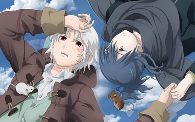 Shion and Nezumi - No. 6 wallpaper