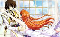 Shirley and Lelouch - Code Geass wallpaper 1920x1080 jpg