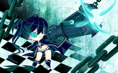 Small Stella - Black Rock Shooter wallpaper