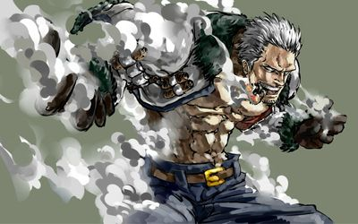 Smoker - One Piece wallpaper