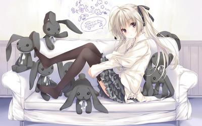 Sora Kasugano - Yosuga no Sora wallpaper