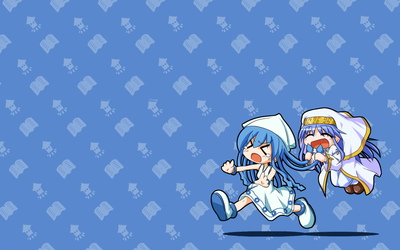 Squid Girl and Index wallpaper