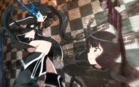 Stella and Dead Master in Black Rock Shooter wallpaper 1920x1200 jpg