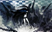 Stella in the cemetery - Black Rock Shooter wallpaper 1920x1200 jpg