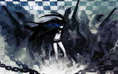 Stella in the cemetery - Black Rock Shooter wallpaper