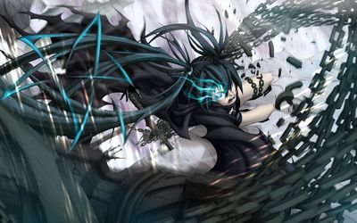 Stella in the fight - Black Rock Shooter wallpaper