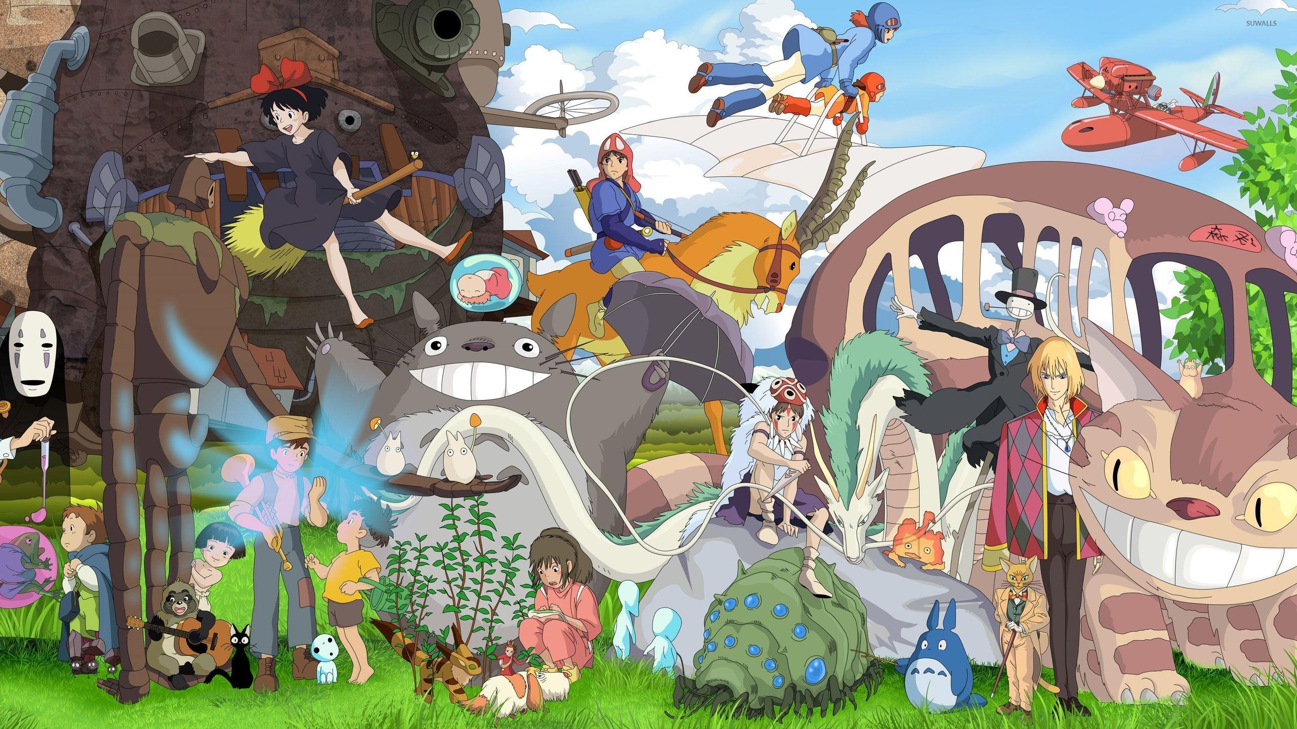 Studio Ghibli characters wallpaper - Anime wallpapers - #36913