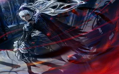 Suigintou - Rozen Maiden wallpaper