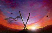 Sunset in Muramasa: The Demon Blade wallpaper 1920x1080 jpg