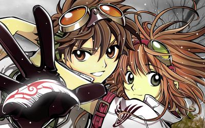 Syaoran and Sakura - Tsubasa-Reservoir Chronicle wallpaper