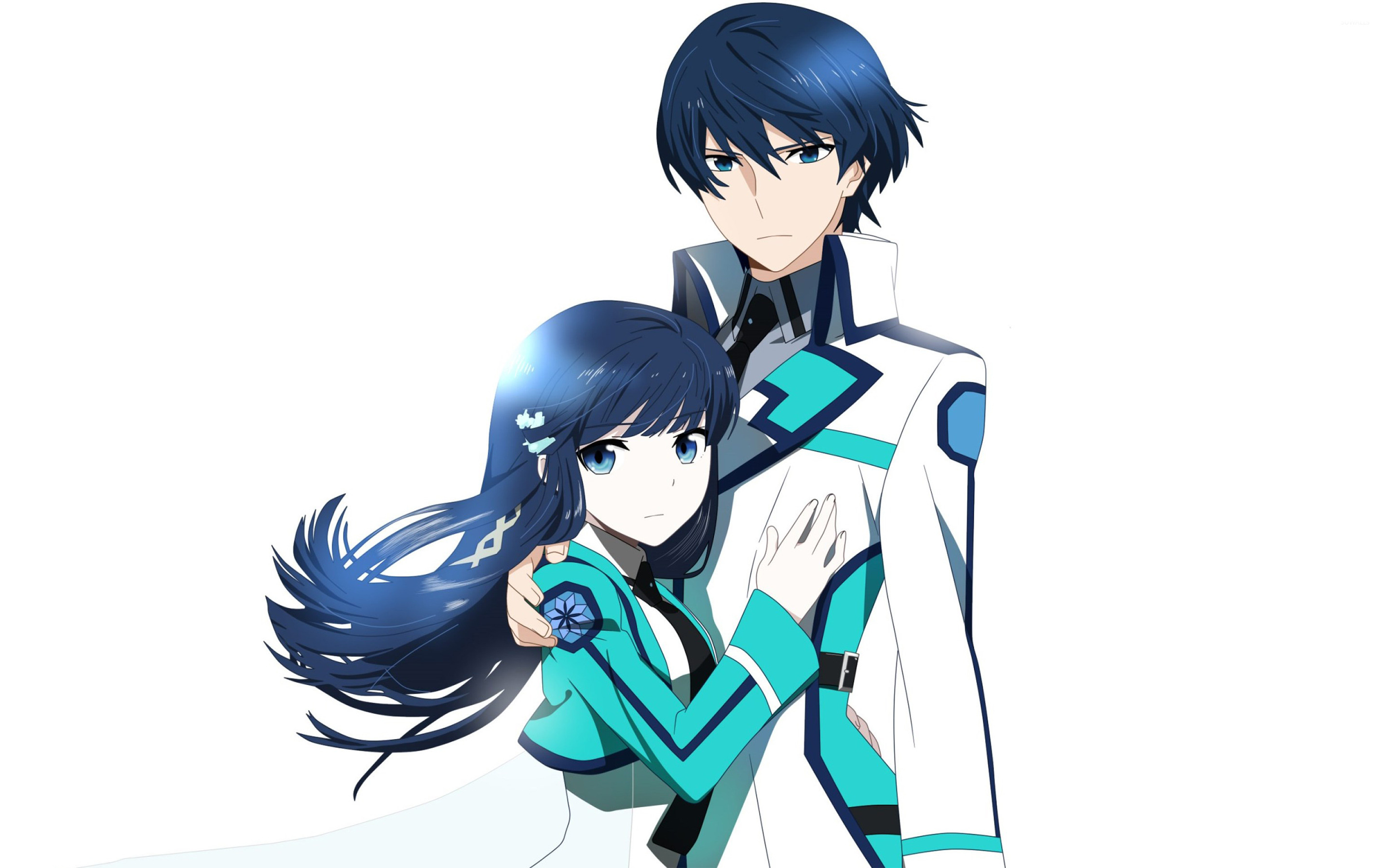 Tatsuya And Miyuki The Irregular At Magic High School Wallpaper