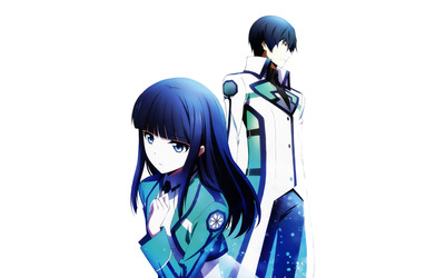 Tatsuya and Miyuki - The Irregular at Magic High School [2] wallpaper