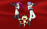 Team Rocket - Pokemon wallpaper 2560x1600 jpg