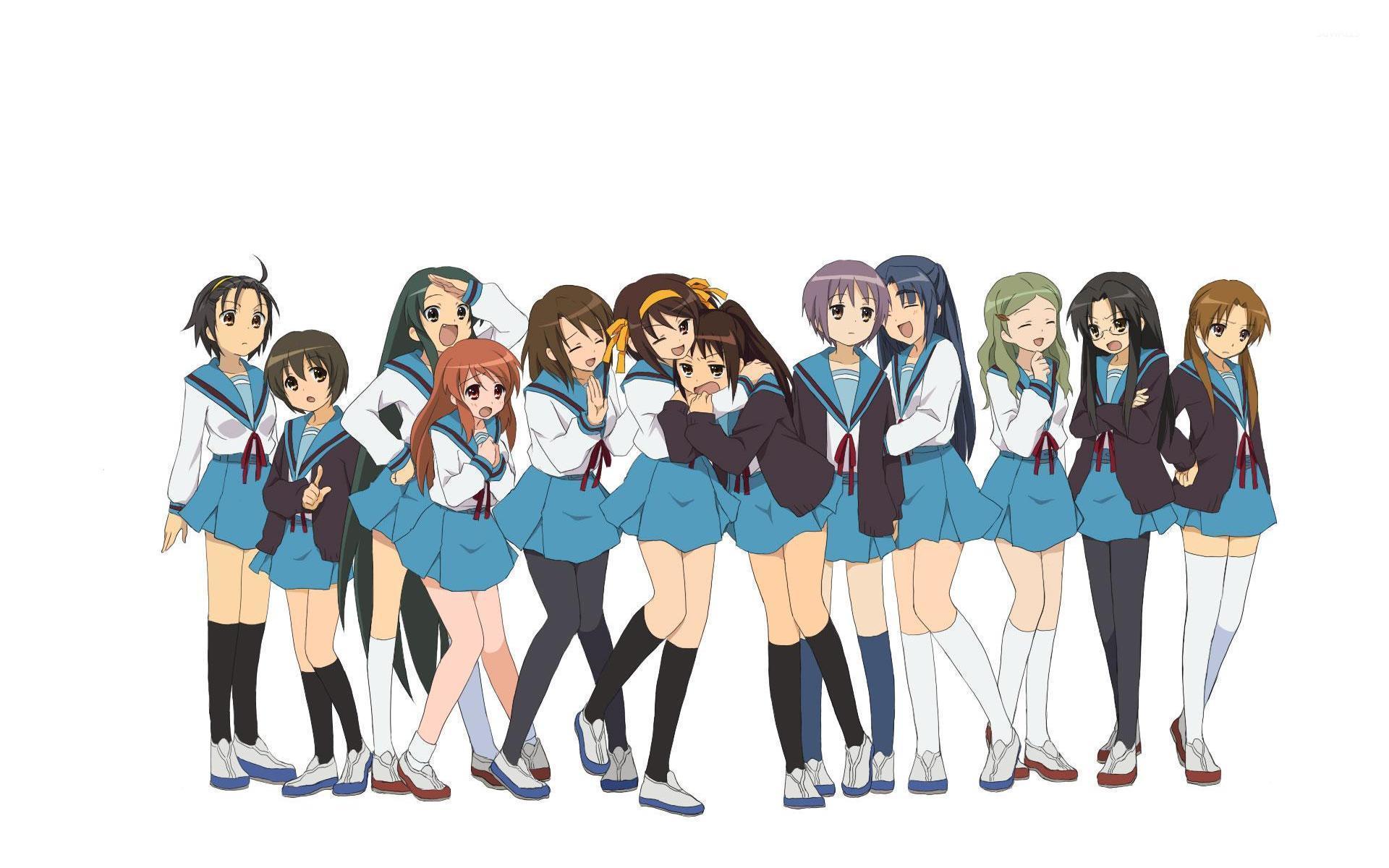 The Melancholy Of Haruhi Suzumiya 3 Wallpaper Anime Wallpapers