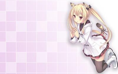 Tiger girl wallpaper