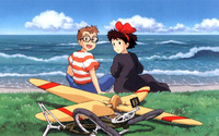 Tombo and Kiki - Kiki's Delivery Service wallpaper 2560x1600 jpg