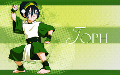 Toph Beifong - Avatar: The Last Airbender wallpaper