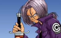 Trunks - Dragon Ball Z wallpaper 2560x1600 jpg