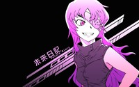 Uryuu Minene in Future Diary wallpaper 1920x1080 jpg